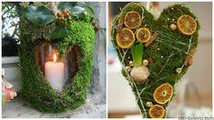 Декор з моху   Ідеї декору Easter 2020, Floral Arrangements, Fall Decor, Candle Holders, Bouquet, Wreaths, Candles, Flowers, Gifts