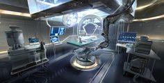 ArtStation - Cosmic human colony station., B S