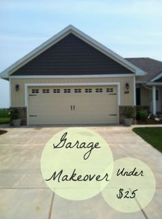 Beau A Diy Garage Door Makeover, Curb Appeal, Garage Doors