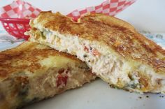 Crab Melt from @ Peanut Butter and Peppers
