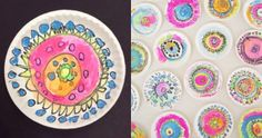 Dot Art Ideas for Kids with Paper Plates