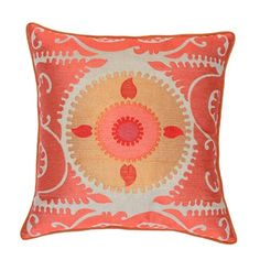 I pinned this Sara Pillow in Pink from the Patterns That Pop event at Joss and Main!