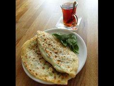 Gözleme, Türkisches Pfannenbörek mit Spinat, vegetarisch, börekler, Teigwaren, CANAN´S REZEPTE