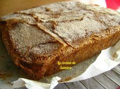 La cocina de Samira: Bica de calabaza con costra de azúcar y canela
