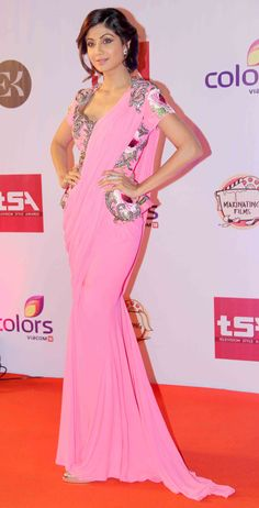 Shilpa Shetty at the Television Style Awards. #Bollywood #Fashion #Style #Beauty