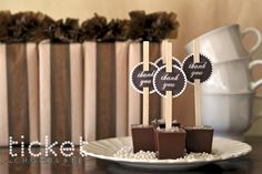 Salted Caramel Hot Chocolate on a Stick - makes the perfect gift!