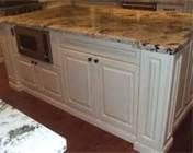 granite countertops with white cabinets - Bing Images