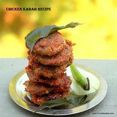 Chicken Kabab | Indian Chicken Patties