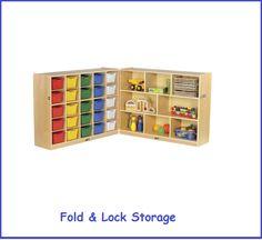 Daycare Storage Shelves Early Childhood Storage Units