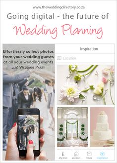 Going digital, the future of wedding planning