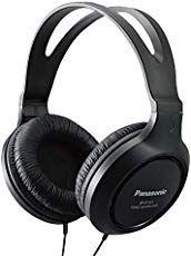 Panasonic Headphones Full-Sized Over-the-Ear Lightweight Long-Corded (Black) - Kokania - Best Online Store Best Over Ear Headphones, Panasonic Headphones, Bluetooth Headphones, Audiophile Headphones, Music Headphones, Dancehall Reggae, Gaming Headset, Best Budget