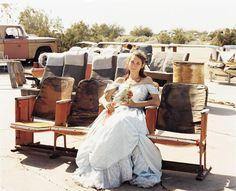 Queen of the Prom, the Range Nightclub, Slab City, California. Joel Sternfeld.