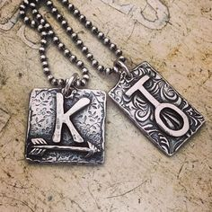 A personal favorite from my Etsy shop https://www.etsy.com/listing/111318282/the-ranchers-wife-custom-brand-necklaces