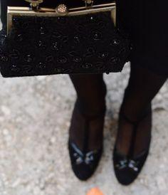 Vintage purse for a wedding