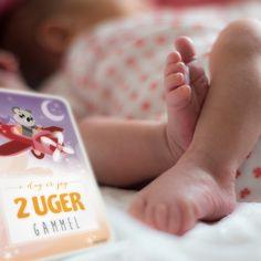 PRIK & STREG - Baby Milestone Cards