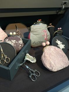 Pins&Needles Customer Gallery | Handmade Purses | Purse Frames | Fabric | Pins&Needles Sew Easy™ Pattern | Hand Embroidery | French Lace