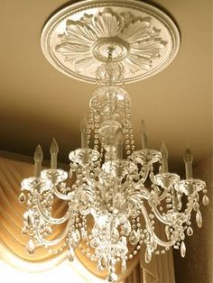 Yes, please. This chandelier we will put into the main living room.....it's so shiny