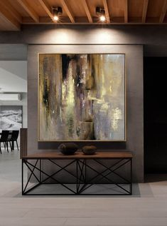 Large Acrylic Painting Gold Painting Office Painting Texture Art Lots Texture Abstract Original Paintings On Canvas Painting Gold Wall Art