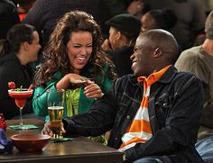 "Mike and Molly show | Mike & Molly - Season 1 - ""Carl is Jealous"" - Katy Mixon, Reno Wilson"