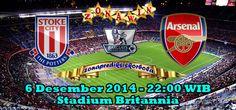 Prediksi Stoke City vs Arsenal, Dari pertandingan ajang liga Inggris pekan 15 akan mempertemukan Stoke City yang akan menghadapi Arsenal