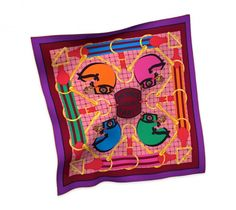 Hermes Tatersale 90cm Carre Scarf - Fall Winter 2014