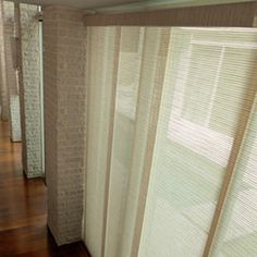 Comfortex 174 Envision 174 Panel Track Blind Classic Window