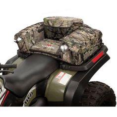 New ATV Rear Padded Bottom Seat Bag Storage Back Pack Deer Hunting Camping Trail #Coleman