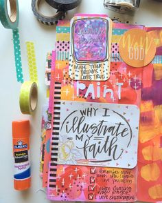 """Valerie Wieners-Massie on Instagram: """"The next day in my #listsbyfaith --- why I illustrate my faith. #illustratedfaith #journalingbible"""""""