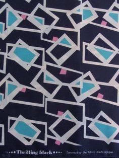 thrilling black - kei fabric