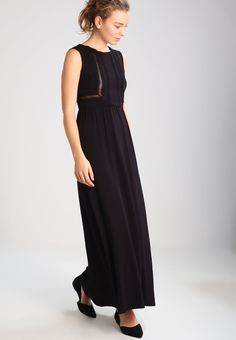 mint&berry Fotsid kjole - black - Zalando.no