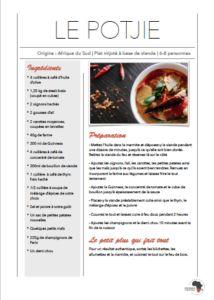 La recette du fameux Potjie sud-africain, délicieux ragout cuit directement dans le feux de bois Guinness, Sauce A La Creme, Le Gin, La Marmite, Gin Tonic, Saveur, South Africa, Food Trip, Tomato Paste