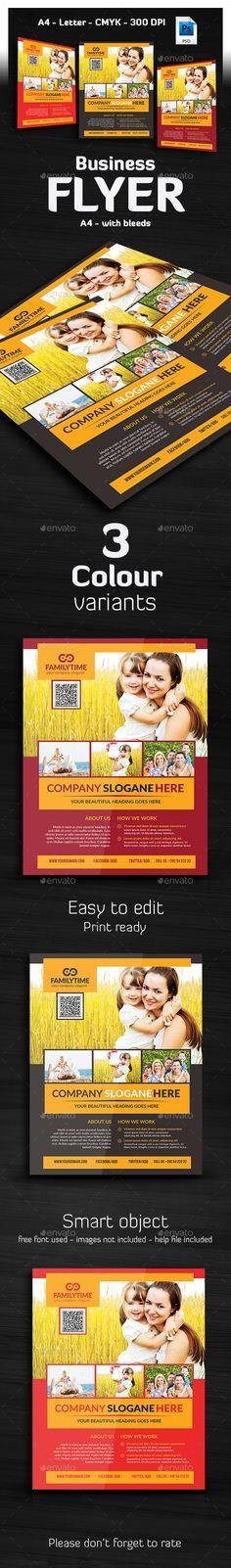 Multipurpose Business Flyer Design Template - Corporate Flyers Template PSD. Download here: https://graphicriver.net/item/multipurpose-business-flyer-/16857789?s_rank=1778&ref=yinkira
