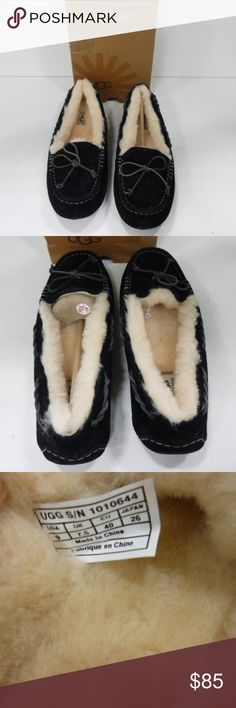 Ugg Slippers Size 9 NEW IN BOX NEVER WORN NEW IN BOX, NEVER WORN. size 9 Ugg Slippers. UGG Shoes Moccasins