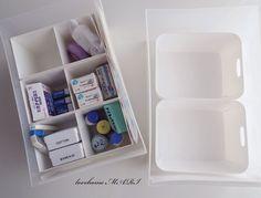 ◆【使えます!!ダイソーの白いキッチンケース】薬の収納と無印の引き出し : love HOME 収納&インテリア
