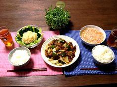 新米は本当に美味しい 丹精込めて作ったお米を毎年送って下さる※※さんに感謝です!(^人^) - 21件のもぐもぐ - 回鍋肉、明太子春雨サラダ、蟹玉あんかけ by pentarou