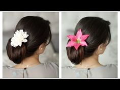 Super-sophisticated : Leila has some really pretty hair style ideas, this one is very Spanish, I love it :)