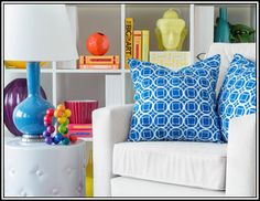 I pinned this from the Clean & Colorful - Crisp White Furniture Meets Vibrant Details event at Joss and Main!