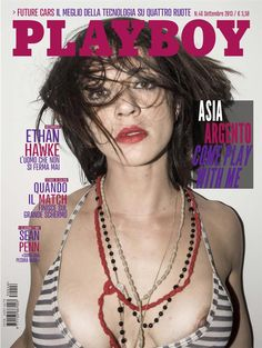 mags4men:  View all photos of: Asia Argento - Playboy - Settembre 2013 (9-2013) Italy