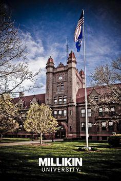Shilling Hall - Millikin University - Decatur, Illinois