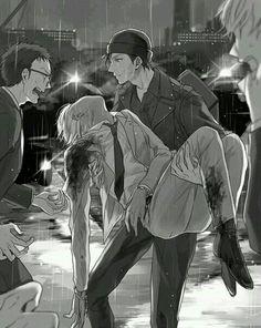 Detective Conan - Akai X Amuro Sad Anime, Anime Guys, Manga Anime, Super Manga, Detective Conan Wallpapers, Kaito Kid, Amuro Tooru, Detektif Conan, Arte Obscura