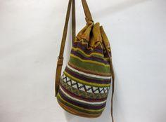 Vintage Woven Aztec Backpack/Shoulder Tote by FutureLoveVintage, $42.00