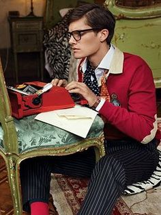 Hot dudes writing. You're welcome.  Elsewhere Writing & Creativity Blog  http://www.elsewherenycblog.com/
