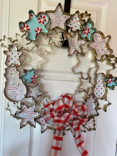 Homemade Christmas, Rustic Christmas, Christmas Projects, All Things Christmas, Winter Christmas, Christmas Holidays, Christmas Wreaths, Christmas Ornaments, Christmas Tree Cookie Cutter