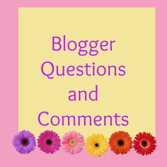 One year of Blogging Questions and Comments: Who Can Help?