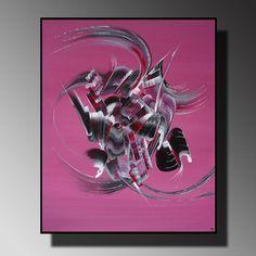 peinture abstraite L'éveil