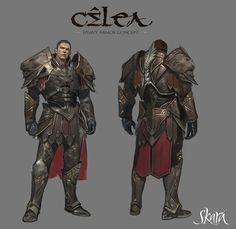 Heavy armor for the Celea