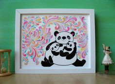 Josh says if I have even one Panda thing in our room, it is then going to be assumed Panda themed.  I say phewy.