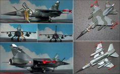 """Dassault-Breguet """"Mirage F-1CR"""" Aufklärer (Heller 355) 1:72"""