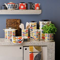 Buy Orla Kiely Multi Stem Kitchen Accessories online at John Lewis