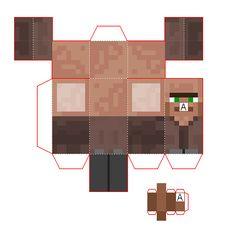Papercraft Mini Advanced Villager